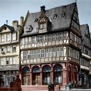 Die Goldene Waage, nachcoloriertes Foto von 1900 (Photochrom)