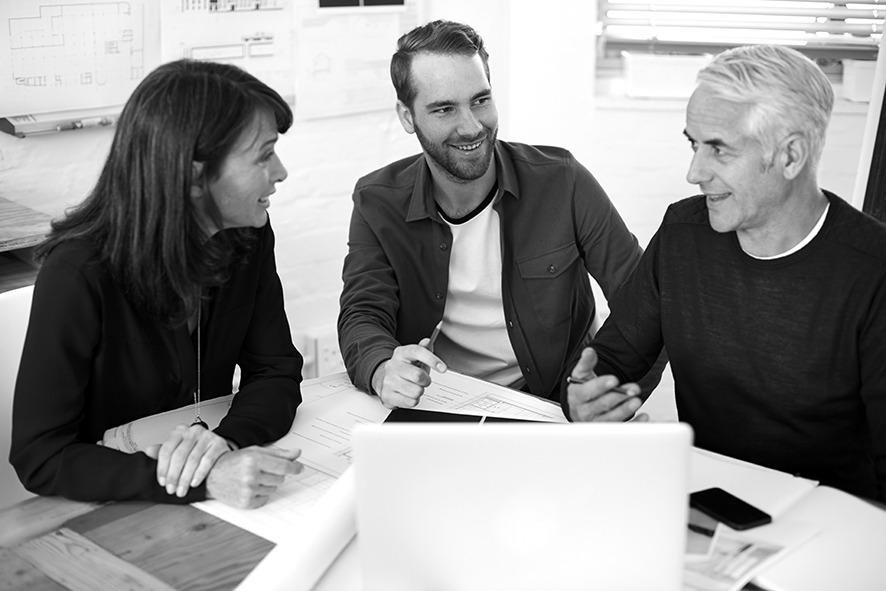 Firmenporträt einszueins Unternehmen Architekten Kommunikation
