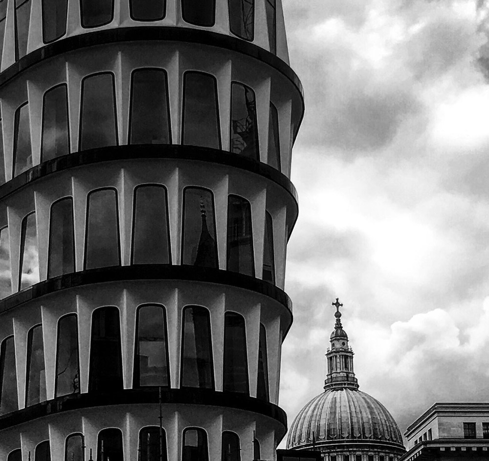 London, City. Foto von Ulrike Liebig, Architektin. Mitarbeiterportrait von einszueins die Ingenieure für digitale Pläne.