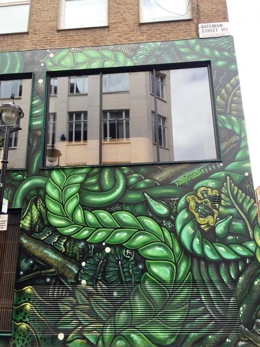 London, Graffiti. Foto von Ulrike Liebig, Architektin. Mitarbeiterportrait von einszueins die Ingenieure für digitale Pläne.