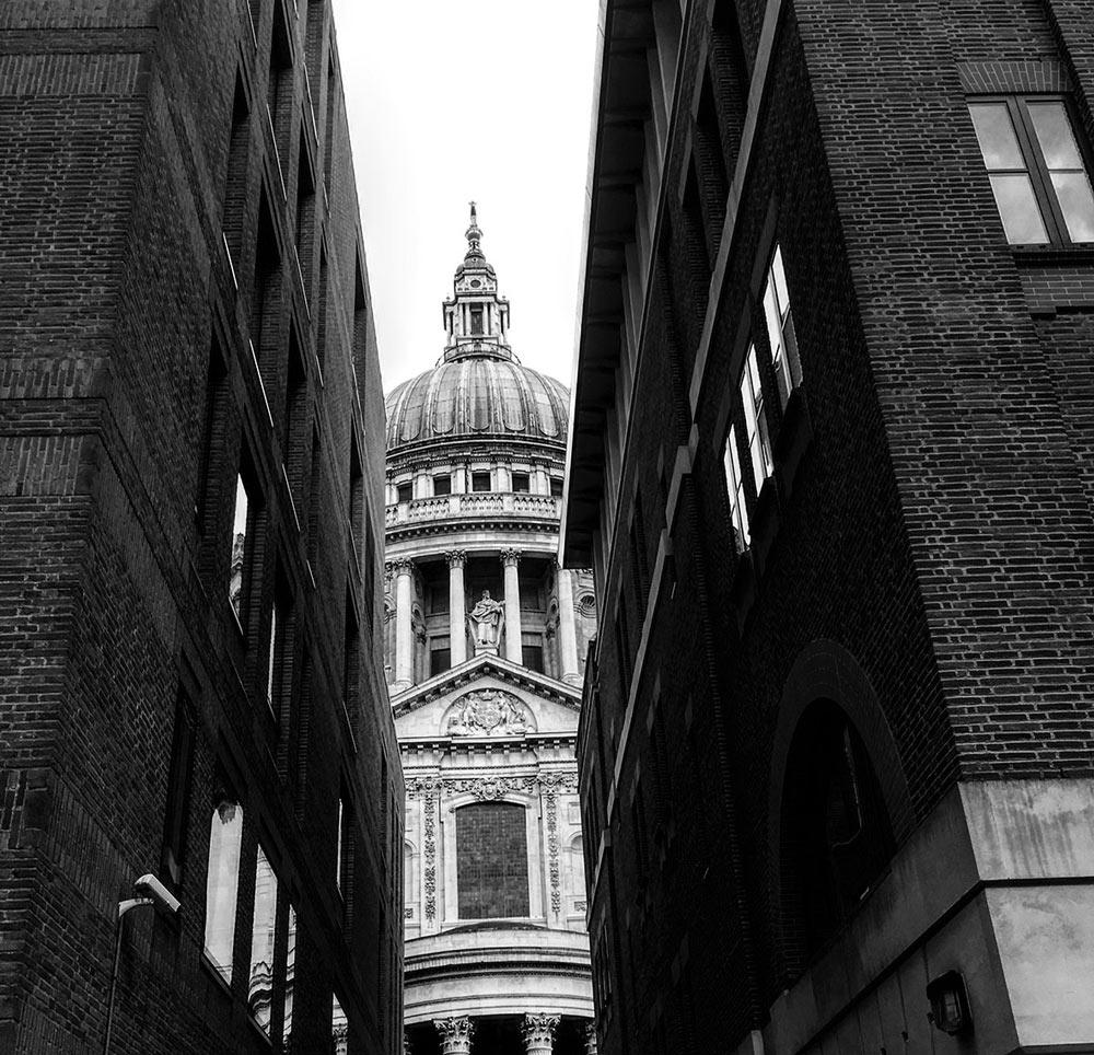 London, St. Pauls. Foto von Ulrike Liebig, Architektin. Mitarbeiterportrait von einszueins die Ingenieure für digitale Pläne.