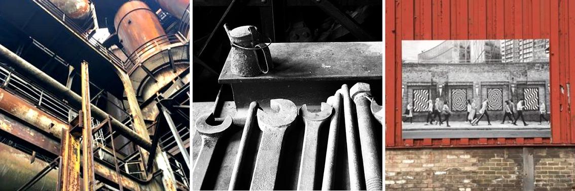 Fotos vom Weltkulturerbe Vöklinger Hütte, Architektur-Ausflugstipps von einszueins