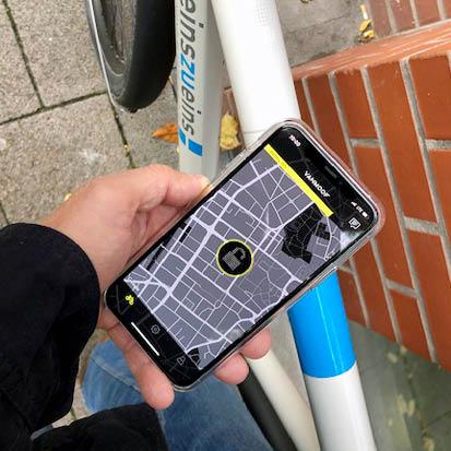 digital Radfahren: Smartbike steuerbar per App