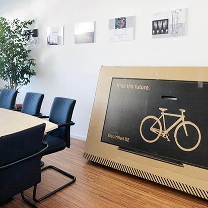 digital Radfahren: Smartbike bei den Ingenieuren für Digitalisierung