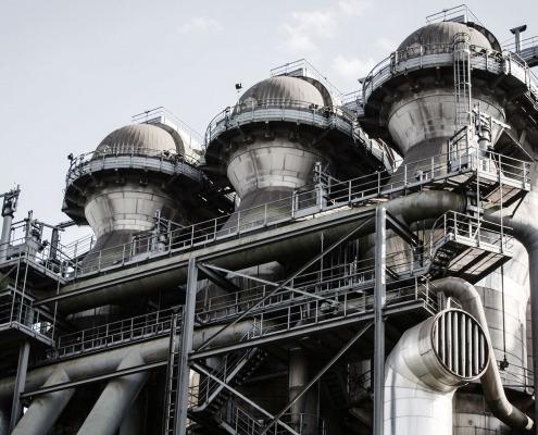 Foto: Industriebau Industrieanlagen
