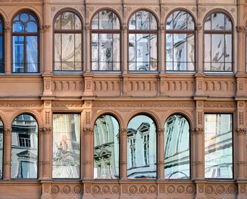 Foto: Fassade Architektur Sanierung Umbau