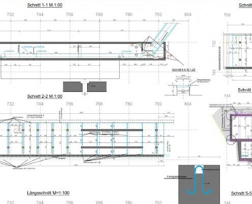 CAD-Plan: Tragwerksplanung Bewehrungsplan